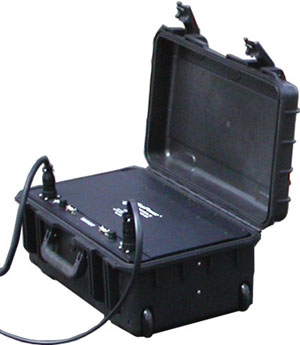 tactical case mounted solar battery module