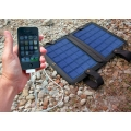 iPhone with 10 watt solar system